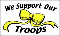 Outdoor -Support Our Troops - 2x3
