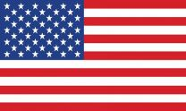 Outdoor - U.S. Flag - Polyester-8x12