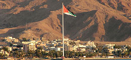 Aqaba Jordan World Record Flagpole
