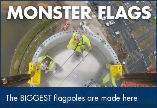 Monster Flags and Flagpoles